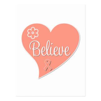 El cáncer uterino cree el corazón postal