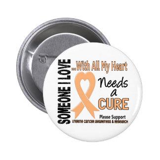 El cáncer uterino necesita una curación 3 pin redondo de 2 pulgadas