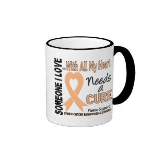 El cáncer uterino necesita una curación 3 taza a dos colores