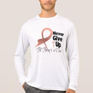 El cáncer uterino nunca da para arriba camisetas