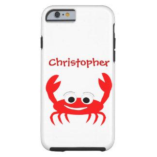 El cangrejo apenas añade nombre funda para iPhone 6 tough