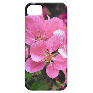 El cangrejo Apple de la primavera florece flor Funda Para iPhone SE/5/5s