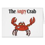 El cangrejo enojado felicitación