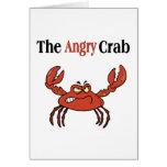 El cangrejo enojado tarjetón