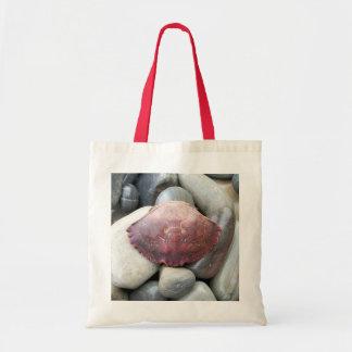 El cangrejo Shell de Borgoña empaqueta Bolsas De Mano