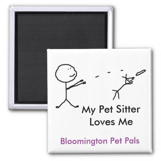 el canguro fMy del mascota me ama Iman De Frigorífico