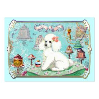El caniche apelmaza tarjetas de visita del Bon del