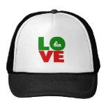El canoeing del amor gorras