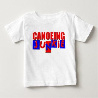 El Canoeing divertido Playera De Bebé