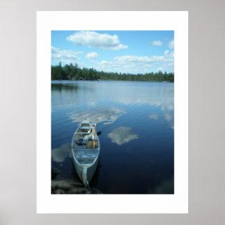 El Canoeing el límite riega v 1 Posters
