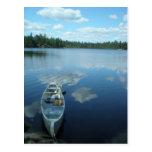 El Canoeing el límite riega v.1 Tarjeta Postal