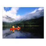 El Canoeing en el lazo internacional de Selkirk Postal