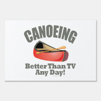 El Canoeing Letreros