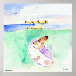 El Canoeing para Toby Poster