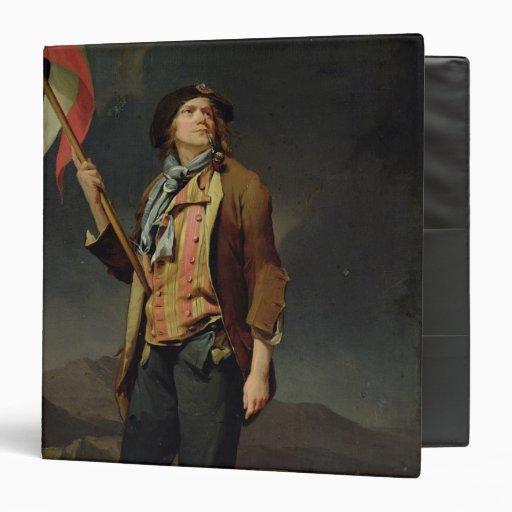 """El cantante Chenard, como a Sin-Culotte, 1792 Carpeta 1 1/2"""""""