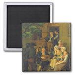 El cantante ciego, 1828 iman para frigorífico