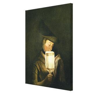 El cantante de la balada, c.1764 (aceite en lona) lona estirada galerías