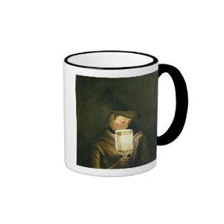 El cantante de la balada, c.1764 (aceite en lona) taza a dos colores