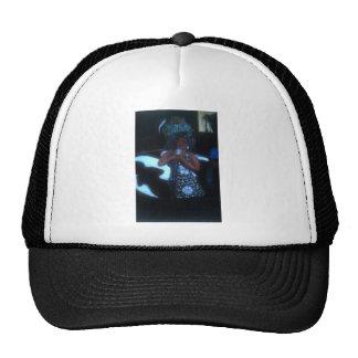 El cantante de los azules gorras de camionero