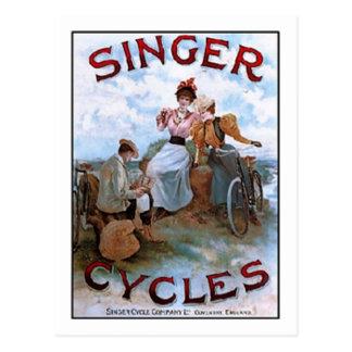 El cantante del vintage completa un ciclo el anunc tarjeta postal