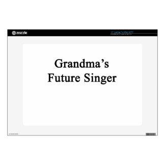 El cantante futuro de la abuela skins para 38,1cm portátil