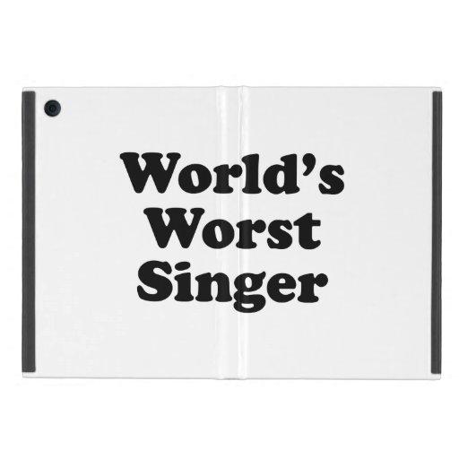 el cantante peor del mundo iPad mini fundas