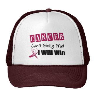 El canto del cáncer de cabeza y cuello me tiraniza gorras