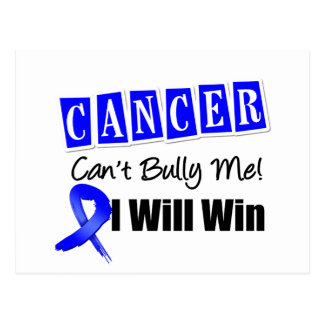 El canto del cáncer de colon me tiraniza que tarjeta postal