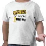 El canto del cáncer de la niñez me tiraniza que ga camisetas