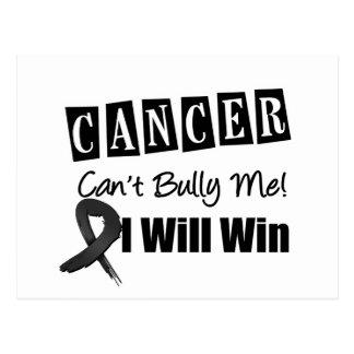 El canto del cáncer de piel me tiraniza que ganaré postal