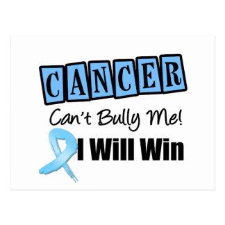 El canto del cáncer de próstata me tiraniza que postal