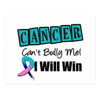 El canto del cáncer de tiroides me tiraniza que tarjeta postal