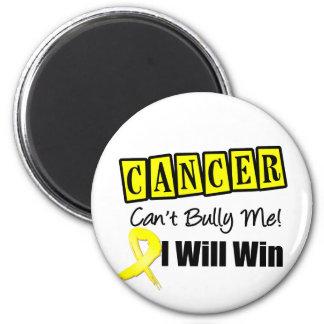 El canto del cáncer de vejiga me tiraniza que gana imán redondo 5 cm