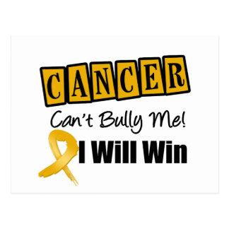 El canto del cáncer del apéndice me tiraniza que tarjeta postal