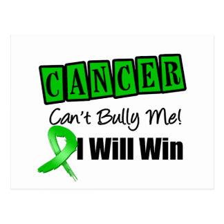 El canto del cáncer del riñón me tiraniza que tarjeta postal