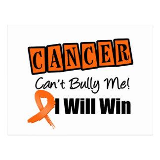 El canto del cáncer del riñón me tiraniza que tarjetas postales