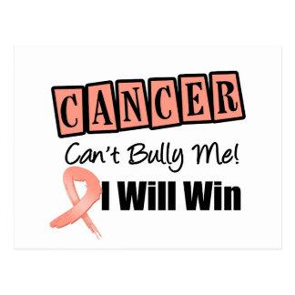 El canto del cáncer endometrial me tiraniza que tarjetas postales