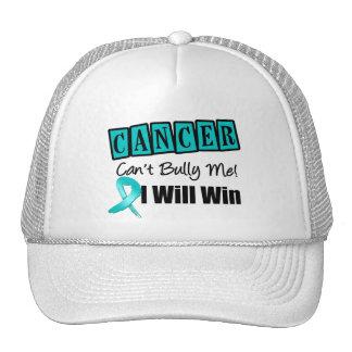 El canto del cáncer ovárico me tiraniza que ganaré gorras de camionero