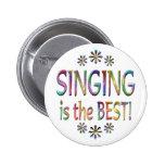 El canto es el mejor pins