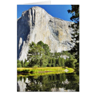 El Capitan And Merced River In Yosemite Cards