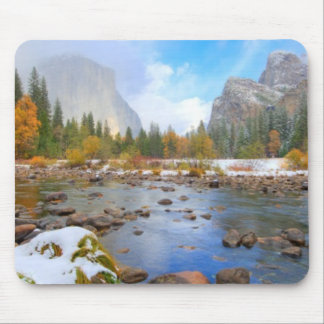 El Capitan and Three Brothers Mouse Pad