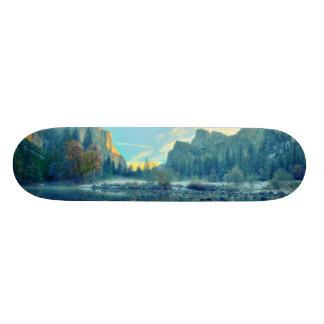 El Capitan and Three Brothers Reflection Skateboard Deck
