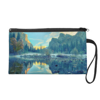 El Capitan and Three Brothers Reflection Wristlet Purse