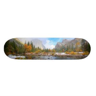 El Capitan and Three Brothers Skateboard Deck