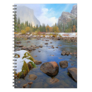 El Capitan and Three Brothers Spiral Notebook