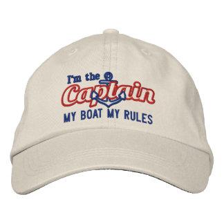 El capitán dice mi barco mis reglas gorras de beisbol bordadas