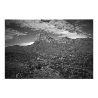 EL Capitan en blanco y negro Foto