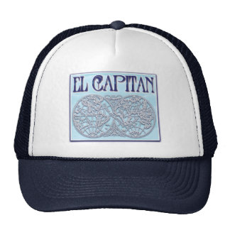 """""""EL Capitan """" Gorra"""