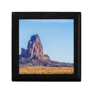 El Capitan mountain in utah Keepsake Box