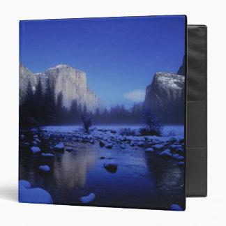El Capitan Mountain, Yosemite National Park, 3 Ring Binder